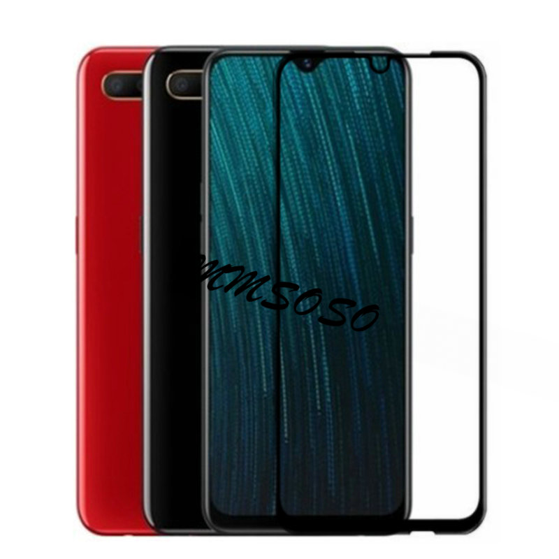 OPPO A5S Glass OPPO AX5S Tempered Glass Full Cover Film For OPPO A5S CPH1909 A 5S OPPOA5S OPPO AX5S Screen Protector Full