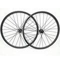 Сверхлегкие 29er Углеродные колеса XC 27x25 мм бескамерный велосипед диск mtb комплект колес Novatec D791SB D792SB 100x15 142x12 велосипедные колеса