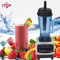 ITOP 1200W BPA FREE 2L Commercial Grade Home Professional Power Blender Green Smoothie Mixer Juicer Food
