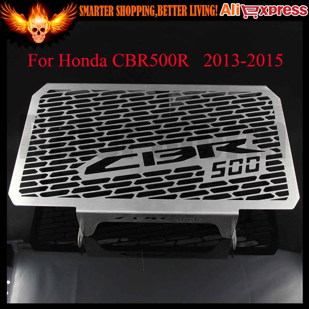 2016 Hot Sale Stainless Steel CBR 500R Motorcycle Radiator Grille Guard Cover Protector For Honda CBR500R 2013 2014 2015