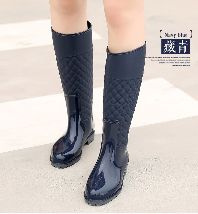 f3526a491 Detail Feedback Questions about Women knee high Boots Waterproof ...