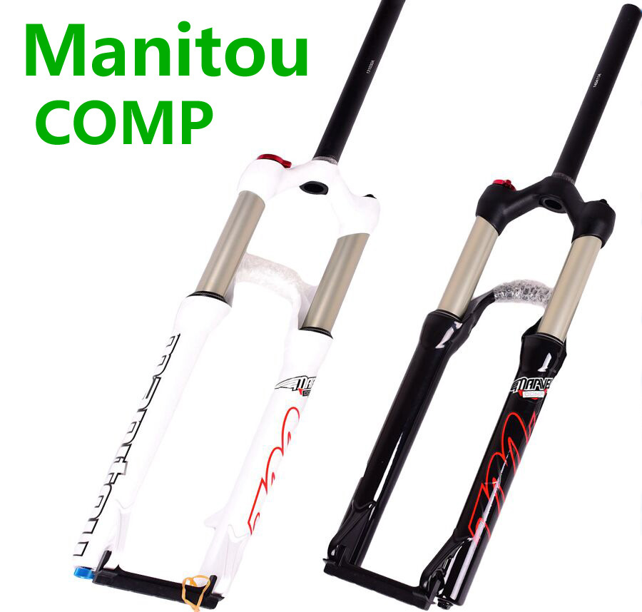 Bicycle Fork Manitou comp 26 27 5 29er size mountain MTB Bike machete air Forks marvel