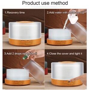 Image 3 - Diffuserlove 500ml Humidifier Remote Control Essential Oil Diffuser  Cool Mist Humidifier EU AU UK US Plug Air Humidifier