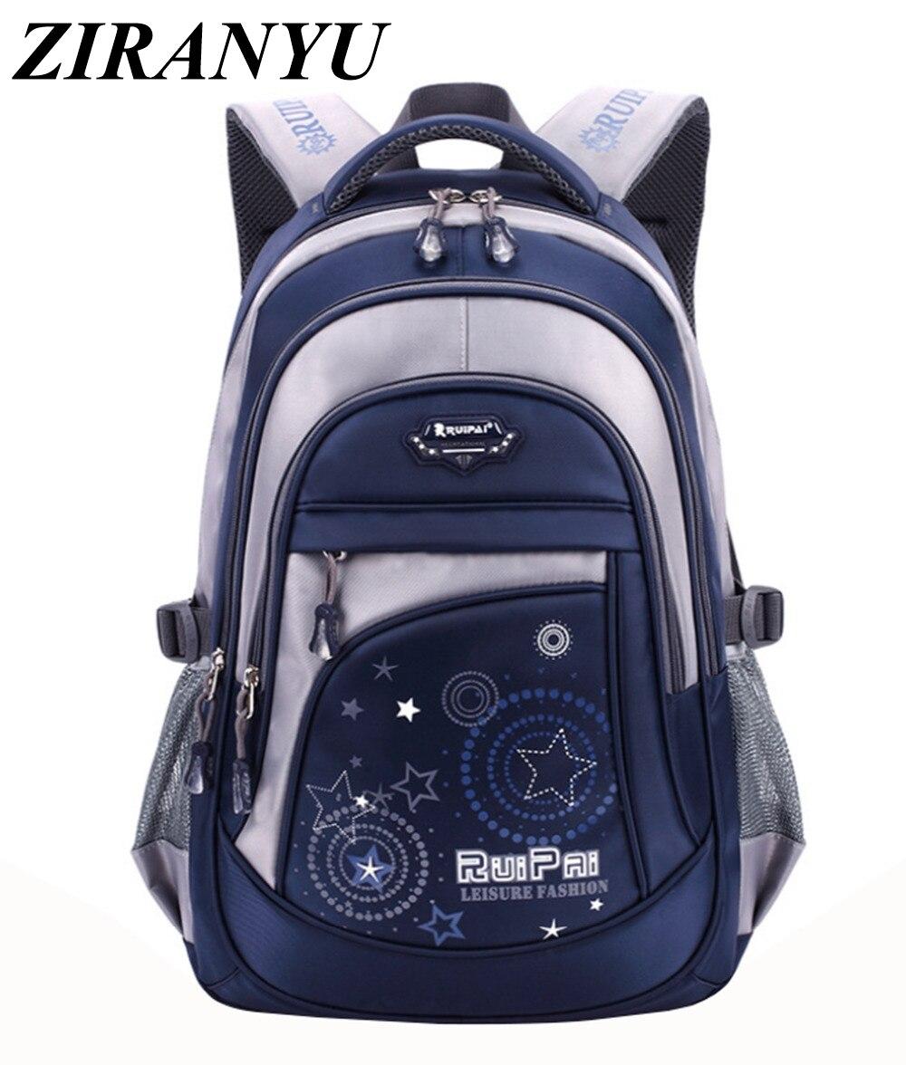 New Children School Bags For Boys Girl Back Pack Travel Bag Backpacks For Teenagers Large Capacity Rucksack Mochila Infantil Zip