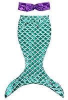 Girls Clothes Summer Dress Children Baby Girls The Little Mermaid Tail Bikini Suit Swim Costume