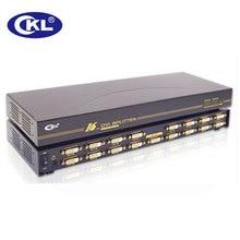 CKL-916E Factory price 16 Port DVI Splitter 1 x 16 DVI Splitter Box