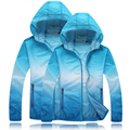 2016 Brand Spring Ultra-Light Jacket Men Women Hit the Color Quick-Dry Clothes Skinsuit Outwear, EDA200