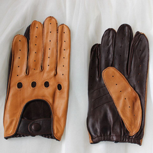 New Arrival Male Genuine Leather Gloves High Quality Fashion