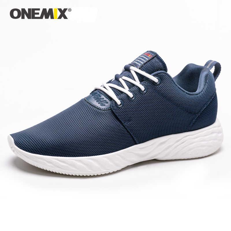 ONEMIX รองเท้าวิ่งผู้ชายกีฬา Breathable กีฬารองเท้าด้านล่างนุ่มกันกระแทก Men's jogging กีฬาและ Leisure 1531