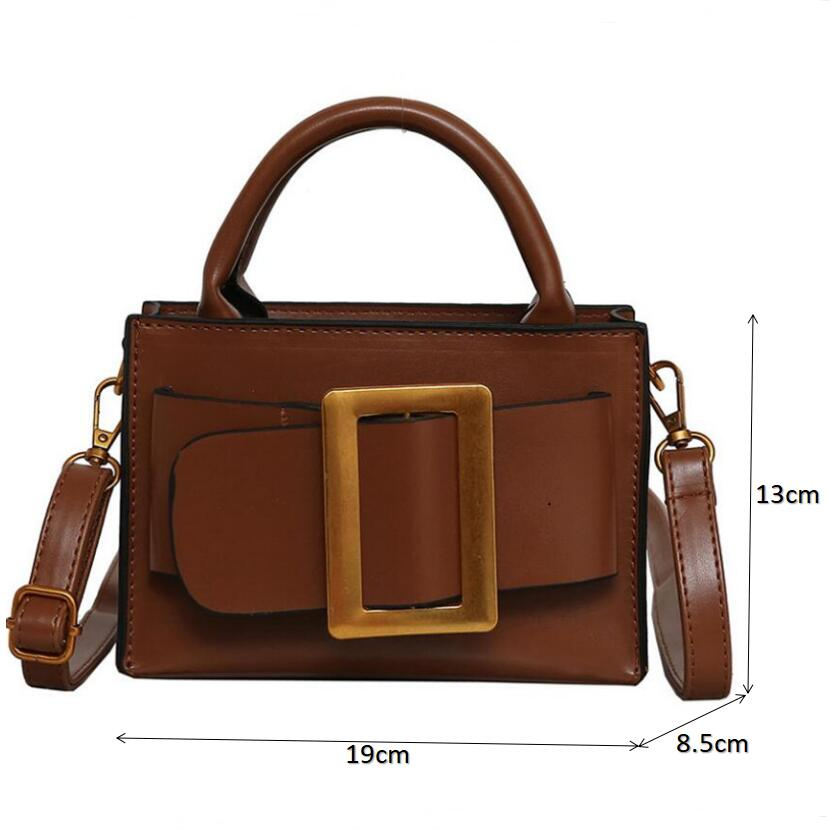 Image 2 - Famous Brand Crossbody Bags For Women High Quality Women Fashion 2019 Luxury Purse And Handbags Ladies Shoulder Messenger Bags-in Top-Handle Bags from Luggage & Bags