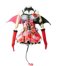 LoveLive Demonic Awaken Women's Kotori Minami Sonoda Umi Eli Ayase Rin Hoshizora Cosplay Costume dress