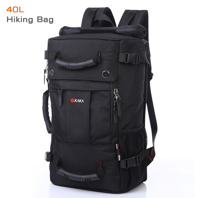 50L High Capacity Quality Oxford Waterproof Laptop Backpack MultifunctionalMochila School bag Outdoor Hiking Travel Luggage Bag 2