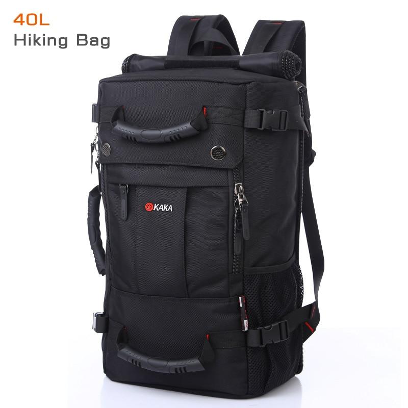 50L haute capacité qualité Oxford étanche sac à dos pour ordinateur portable multifonctionnel mochila sac d'école en plein air randonnée voyage bagages sac - 3