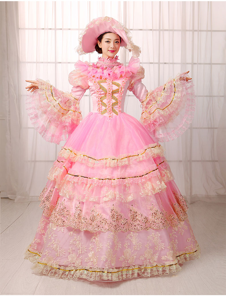 free pp victorian halloween costumes for women medieval adult