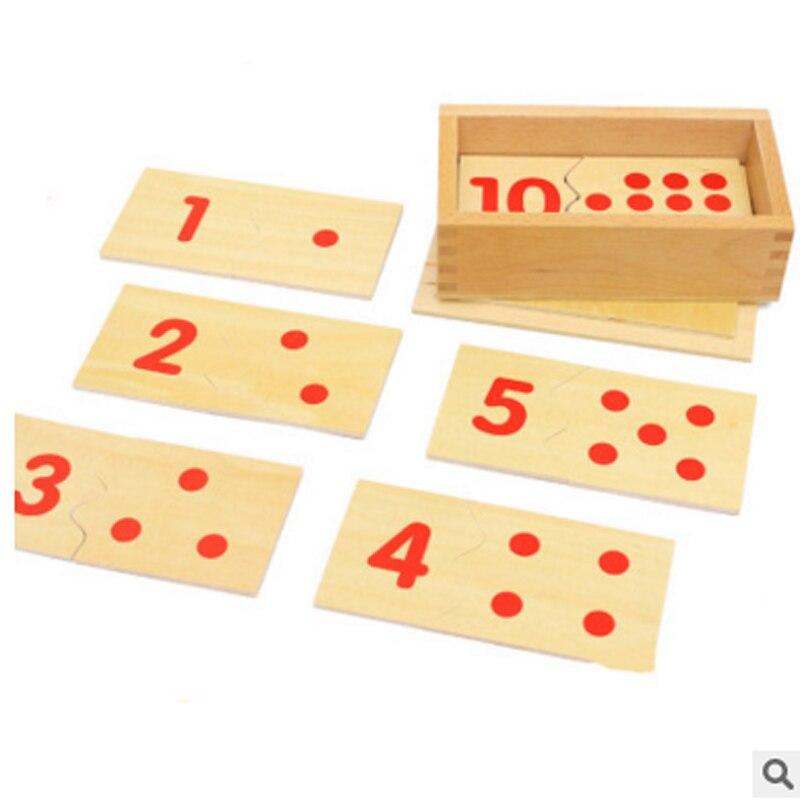 1box 아기 장난감 몬테소리 디지털 퍼즐 상자 세트 어린이 교육 퍼즐 장난감 나무 장난감 선물 조기 교육 완구