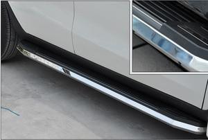 Image 3 - Verdicken luxuriöse trittbrett seite schritt nerf bar für Nissan X trail Rogue 2014 2015 2016 2017 2018 2019 2020, last 300kg,