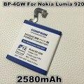 Bp-4gw 2560 mah li-ion para nokia lumia 920 920 pb t 4gw bp4gw original de alta