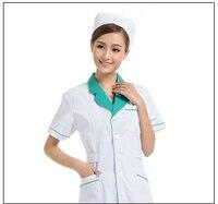 Venta caliente famosa marca 100% algodón Médicos ropa enfermera uniformes belleza uniforme dentista Hospital ropa
