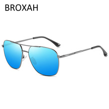Mens Classic Pilot Polarized Sunglasses Men 2019 Aviation Frame Driving Sun glasses For Metal Shades Gafas De Sol Hombre