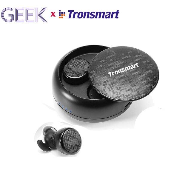 Tronsmart Encore Spunky bourgeons Bluetooth écouteurs sans fil écouteurs véritable sans fil stéréo écouteurs IPX5 avec micro pour téléphones