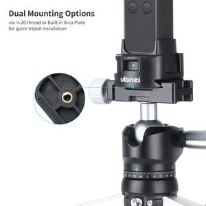 Image 4 - ULANZI OP 4 trépied socle adaptateur fixation rapide pour DJI Osmo poche WiFi Module sans fil, Port USB type c pour le chargement