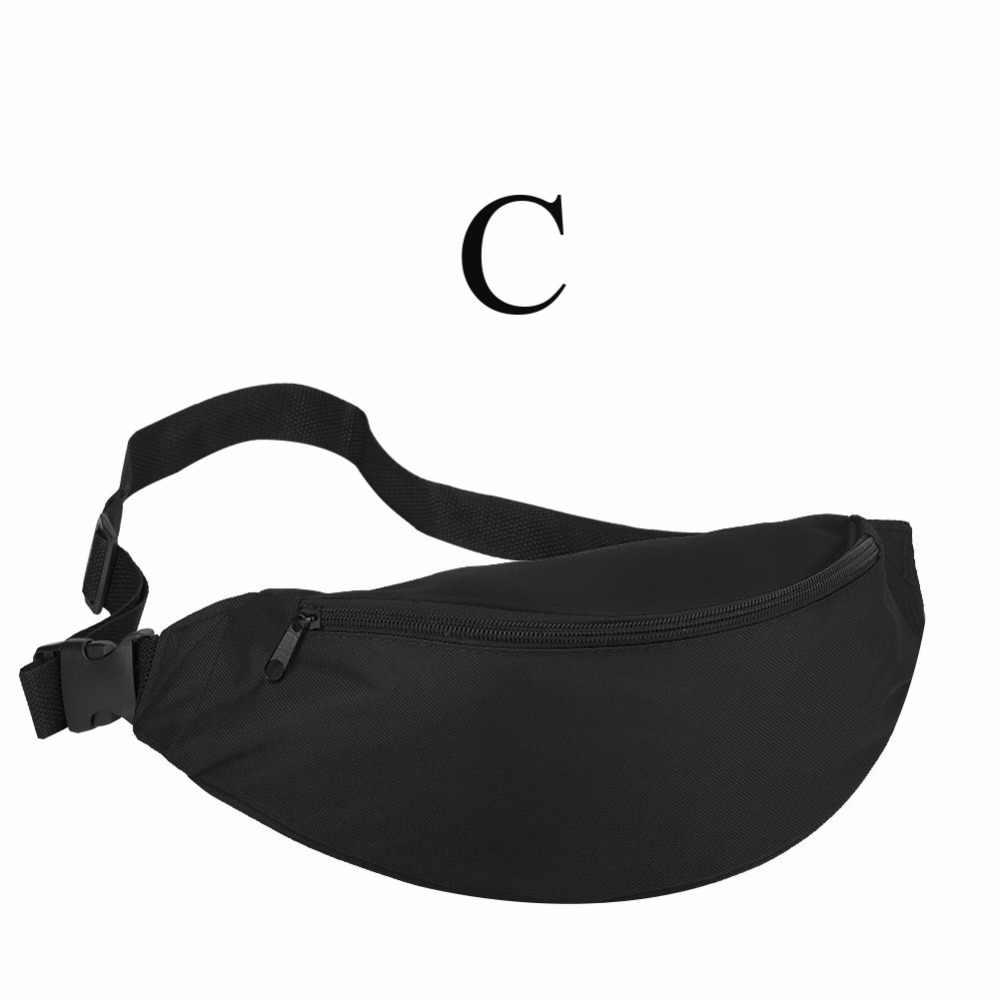1caf7f144e4 2018 Fanny Pack Women Waist Bag Summer Hip Bag Travel Fashion Bum Bag  Hengreda Men Waistbag Belt Zipper Pouch Bags Black