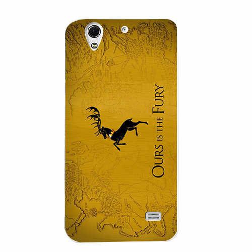 Для Игра престолов 7 Чехол для huawei Ascend G620S/Honor 4 Play C8817E C8817D чехол мягкий чехол для мобильного телефона для задней панели чехол с футбольной символикой