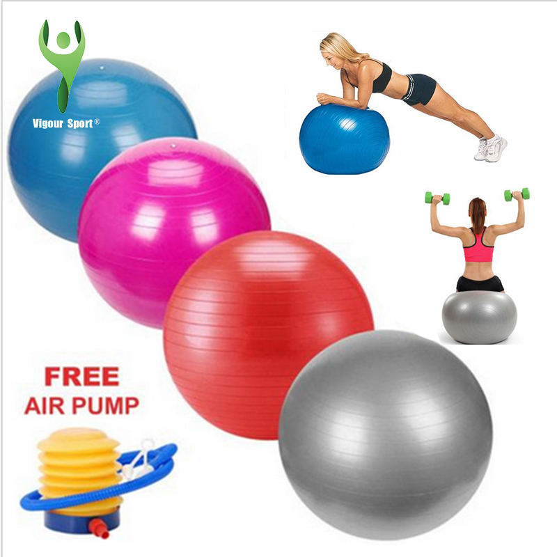 Balance Ball For Weight Loss: High Quality 65cm Anti Burst Gym Exercise Yoga Fitness
