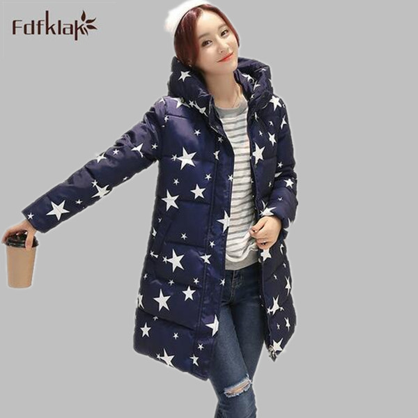 Fashion Women's winter jacket 2016 new slim women winter coat cotton-padded female long thickening warm parkas L-3XL