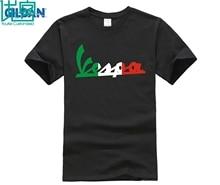 Italy Piaggio Vespa Servizio Tee Shirt Men's  T-shirt Lambretta Scooter Gilera Derbi Moto Guzzi Aprilia  Motorbike все цены