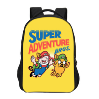 VEEVANV Cartoon Adventure Time Prins Backpacks For Boys Girls School Bags Teenage Shoulder Bag Casual Backpacks Mochila Escolar