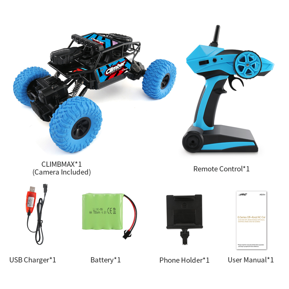 118 24g Remote Control Car 4wd Rc With Hd Camera Wifi Fpv Real Stepper Time Video Racing Off Road Climbing Toys In Cars From Hobbies