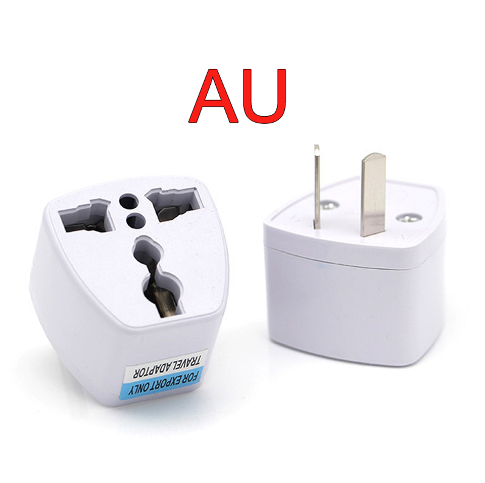New Arrival 1 PC Universal UK US AU to EU AC Power Socket Plug Travel Electrical Charger Adapter Converter Japan China American (9)