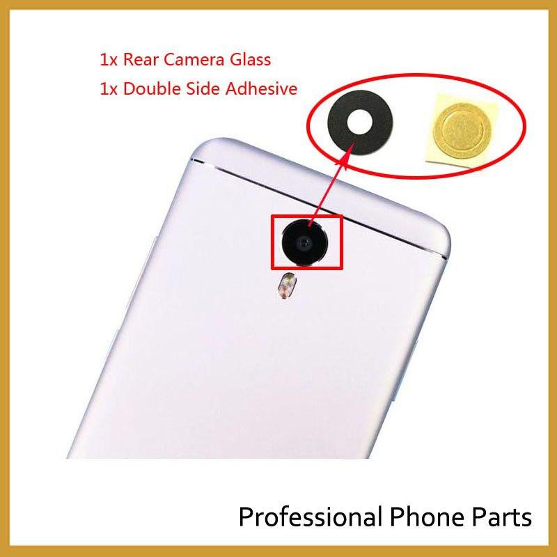 Оригинальный Камера Стекло для Meizu MX4 MX5 Pro 5 Pro 6 M2 M3 M3s M2 Примечание M3 Примечание сзади Камера стекло объектив с Стикеры клей Ahesive