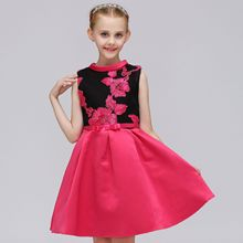 2019 New Girls Dresses Summer Baby Princess Dress For Party Kids Cute Children Clothing Embroidery