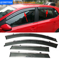 Car Awning Shelter Window Visor For VW Polo Golf6/7 GranLavida CrossLavida Touran Tiguan Touareg 2005-2017 SUVRain Shield Cover