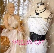 Juego De Tronos Daenerys Targaryen Cosplay Vestido de Disfraces para Mujeres Niñas Cosplay