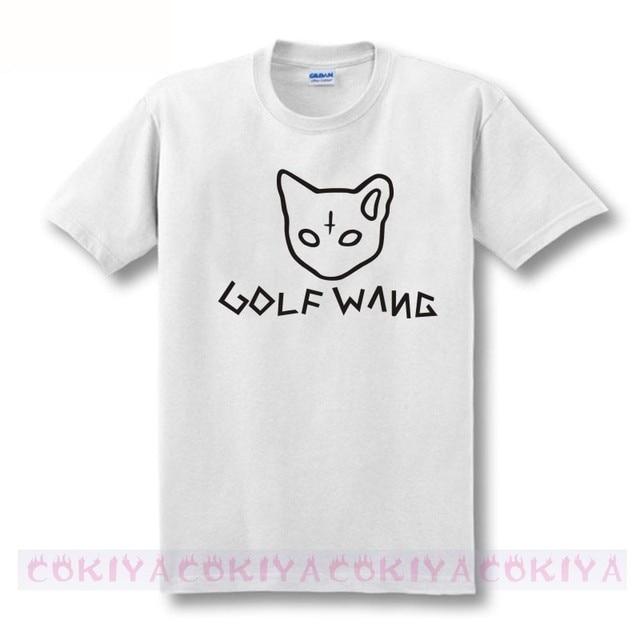 new 2017 free shipping Handwriting line drawing Odd Future  WANG OFWGKTA HARAJUKU man men male plus size  T-shirt