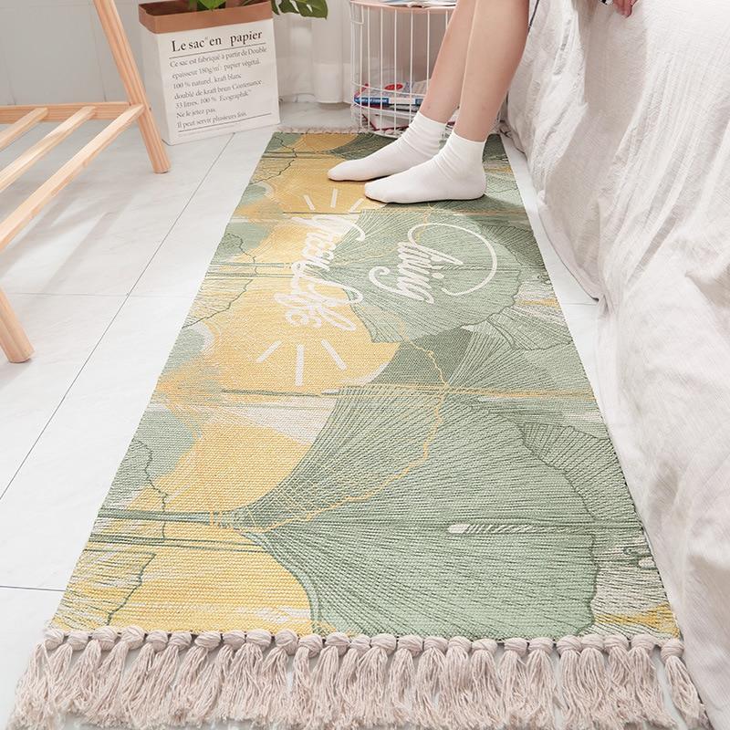 Tapis pour salon maison chaud en peluche tapis de sol tapis enfants chambre flanelle glands tapis salon tapis soyeux tapis maison Textile