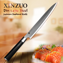 XINZUO 9 5 inch Fishing Filleting Kitchen Knives Germany Din 1 4116 Sushi Knife Stainless Steel