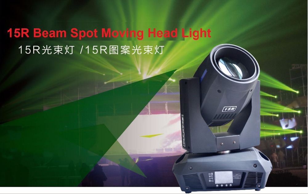 2015 15R 330W Moving Head Beam Wash Spot Light Professional Stage Lighting Effect 450W Disco DMX Projector Strobe Laser Lights laser head owx8060 owy8075 onp8170