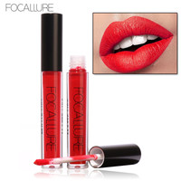 FOCALLURE Lip Gloss Lip Kit Waterproof Long Lasting Matte Lipstick Liquid Lipstick Hot Sexy Colors Lip