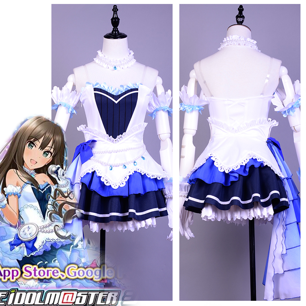 The Idolmaster Starlight Stage Cosplay Costume For Women Girl
