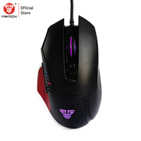 FANTECH X11 Mouse Mice Macro RGB Color Computer Mouse USB Wired Backlight 8000DPI 8 Button Optical Gaming Mouse For Mouse Gamer