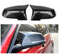 F30 F31 F34 F80 F32 F36 F82 F83 F20 F21 F22 E84 carbon fiber replacement side door mirror cover for BMW 2012+ 1 2 3 4 x series