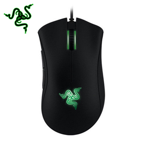 Razer Deathadder 2013 6400DPI Gaming Mouse Wired Black Game Mice cherry cherry jm 0300 wired gaming mouse black