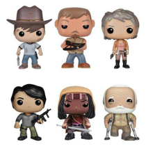 цена на The Walking Dead Character 10cm Action Figure Toys