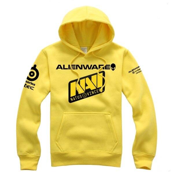 SteelSeries DOTA2 LOL SC NAVI Natus Vincere Game Team men hoodies sweat shirt coat men s