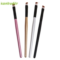 Makeup Brush KANBUDER FeatheringWomen Hot fashion Eyebrow Cosmetic Artificial Fiber Wooden Handle Brushes R168