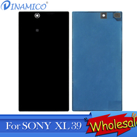 Dinamico 10PCS XL39H Housing Cover Without NFC Antenna For Sony Xperia Z Ultra Battery Cover C6802 C6806 C6833 Back Cover Case